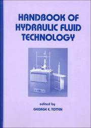 Cover of: Handbook of Hydraulic Fluid Technology (Mechanical Engineering (Marcell Dekker))