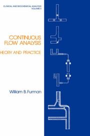 Cover of: Continuous flow analysis | William B. Furman