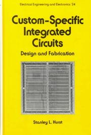 Cover of: Custom-specific integrated circuits