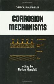 Cover of: Corrosion mechanisms |