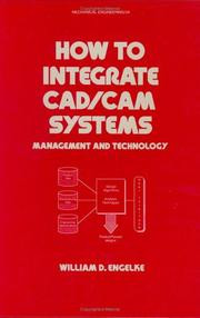 Cover of: How to integrate CAD/CAM systems