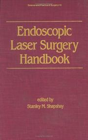 Cover of: Endoscopic laser surgery handbook |