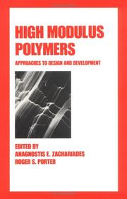 Cover of: High modulus polymers |