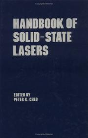 Cover of: Handbook of solid-state lasers |