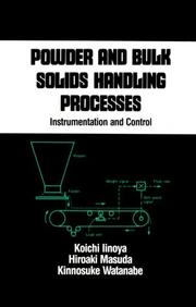 Cover of: Powder and bulk solids handling processes