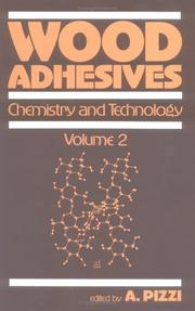 Cover of: Wood adhesives |
