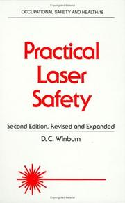 Cover of: Practical laser safety | D. C. Winburn