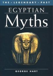 Cover of: Egyptian Myths | George Hart