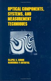 Cover of: Optical components, systems, and measurement techniques