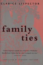 Cover of: Family Ties (Texas Pan American Series)