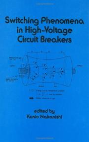 Cover of: Switching phenomena in high-voltage circuit breakers |