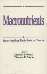Cover of: Macronutrients |
