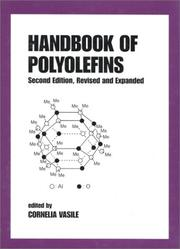 Cover of: Handbook of polyolefins. |