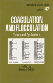 Cover of: Coagulation and flocculation |