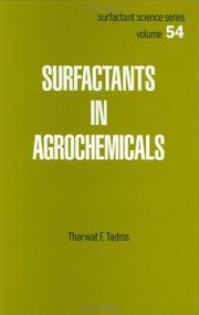 Cover of: Surfactants in agrochemicals | Tadros, Th. F.