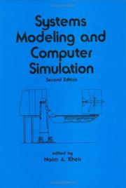 Cover of: Systems modeling and computer simulation |
