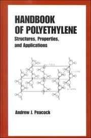 Cover of: Handbook of Polyethylene: Structures | Andrew Peacock