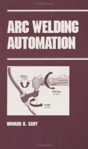 Cover of: Arc welding automation