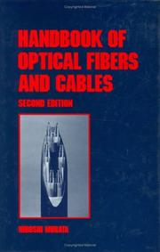 Cover of: Handbook of optical fibers and cables