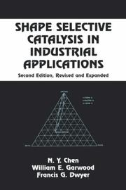 Cover of: Shape selective catalysis in industrial applications