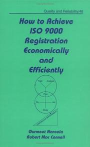 Cover of: How to achieve ISO 9000 registration economically and efficiently