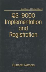 Cover of: QS-9000 implementation and registration