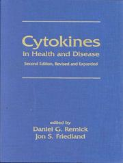 Cover of: Cytokines in Health and Disease | Daniel Remick