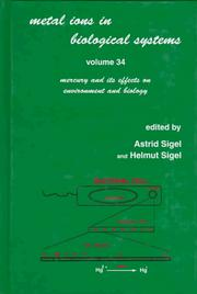 Cover of: Metal Ions in Biological Systems | Astrid Sigel