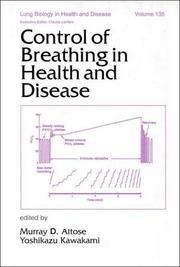 Cover of: Control of breathing in health and disease by