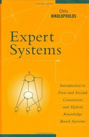 Cover of: Expert systems