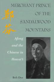 Cover of: Merchant prince of the Sandalwood Mountains