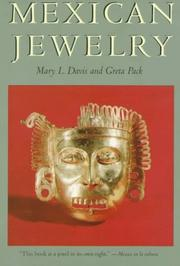 Cover of: Mexican Jewelry | Mary L. Davis