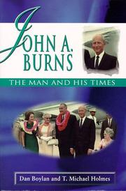 Cover of: John A. Burns