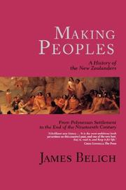 Cover of: Making peoples |