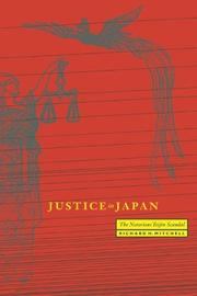 Cover of: Justice in Japan