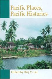 Cover of: Pacific places, Pacific histories
