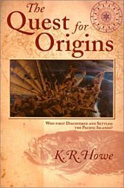 Cover of: The quest for origins