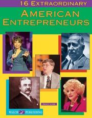 Cover of: 16 extraordinary American entrepreneurs