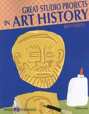 Cover of: Great Studio Projects in Art History | William Reid