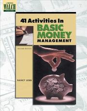 Cover of: 41 Activities In Basic Money Management