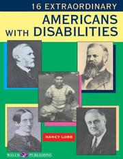 Cover of: 16 extraordinary Americans with disabilities
