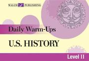 Cover of: Us History (Daily Warm-Ups) | Lisa French
