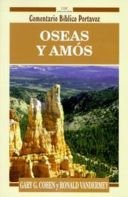 Cover of: Oseas y Amos