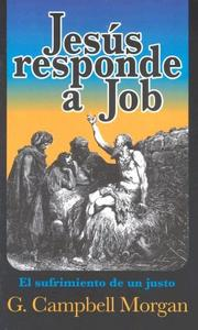 Cover of: Jesus responde a Job: The Answer of Jesus to Job