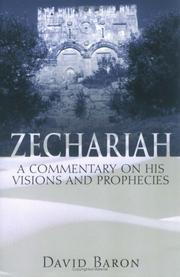 Cover of: Zechariah