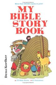 Cover of: My Bible story book