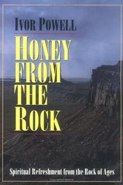 Cover of: Honey from the rock | Powell, Ivor