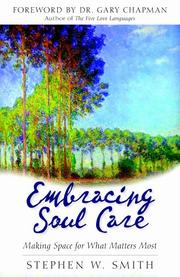 Cover of: Embracing Soul Care