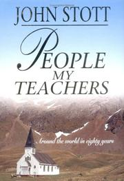 Cover of: People my Teachers