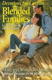 Cover of: Devotions for couples in blended families